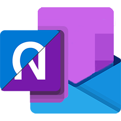 Image Microsoft Office Outlook et OneNote